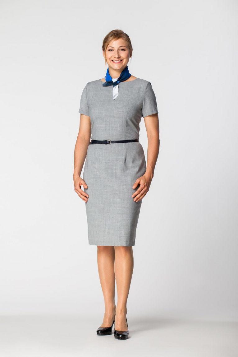 Sukienka damska służbowa DSU 2201