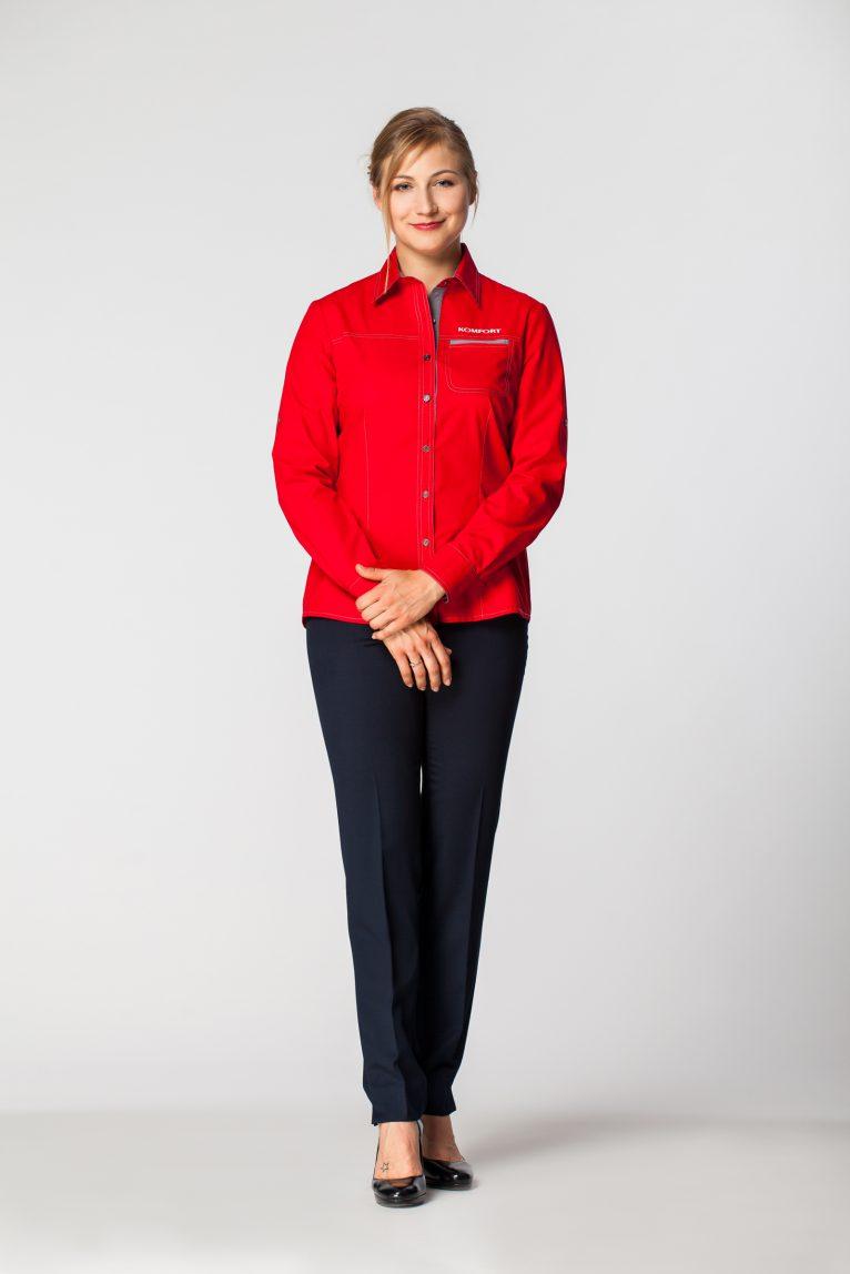 Koszulka damska biznesowa DKK 1014