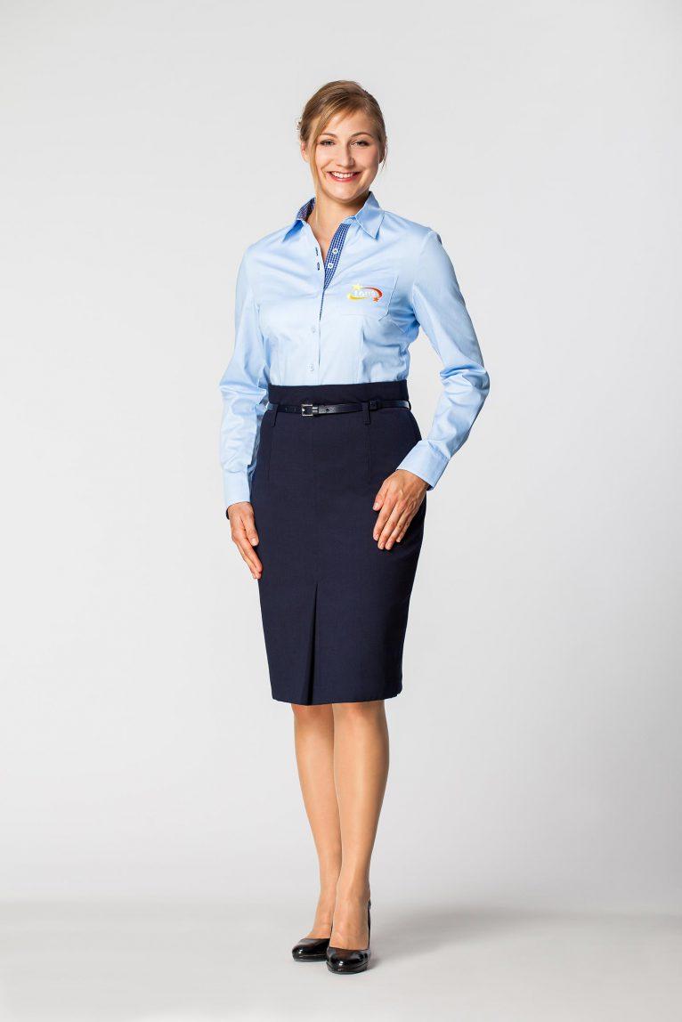 Koszula damska biznesowa dkk 1009