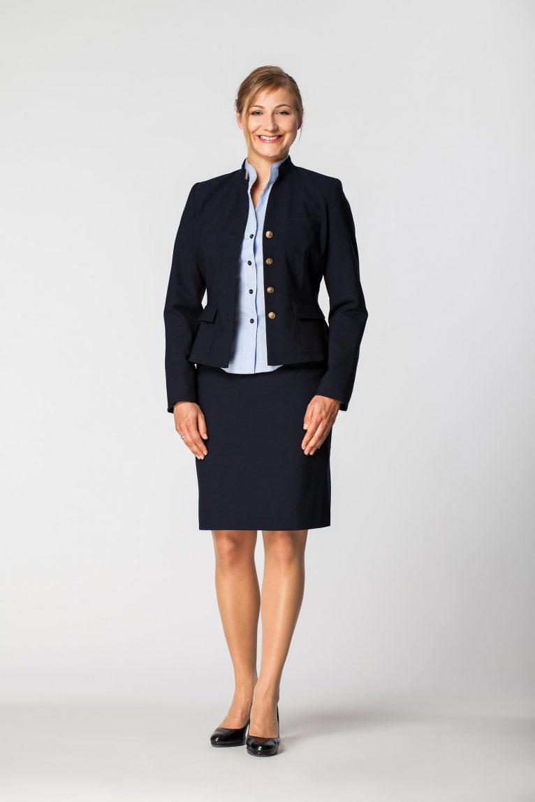 Żakiet damski służbowy spódnica DZK 1215