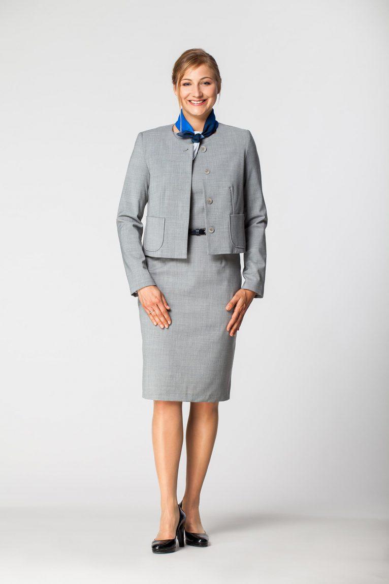 Żakiet damski służbowy sukienka DZK 1208
